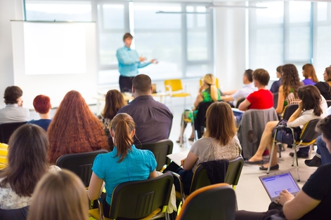 Commercial training classroom session