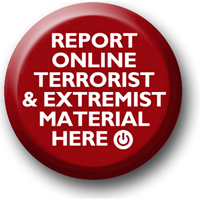 Report online terrorist and extremist material button